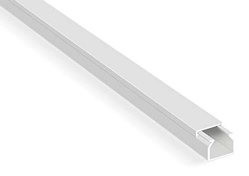 10m Kabelkanäle Selbstklebender Kabelkanal Weiß mit...