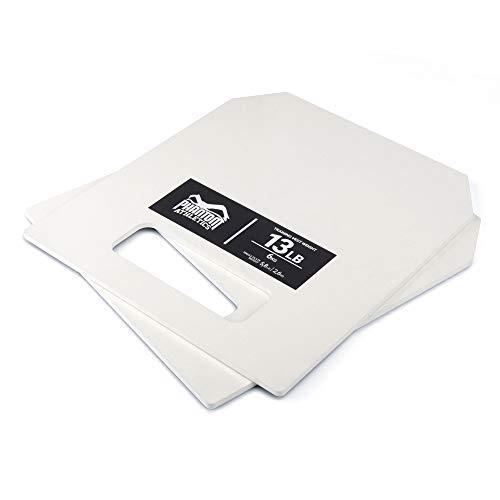Phantom Athletics Gewichtsweste 6 kg (13 Lb) Platten Set,...