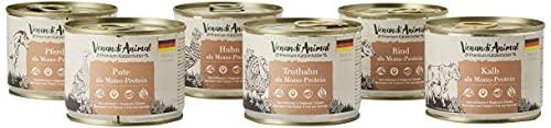 Venandi Animal Premium Nassfutter für Katzen, Probierpaket III,...