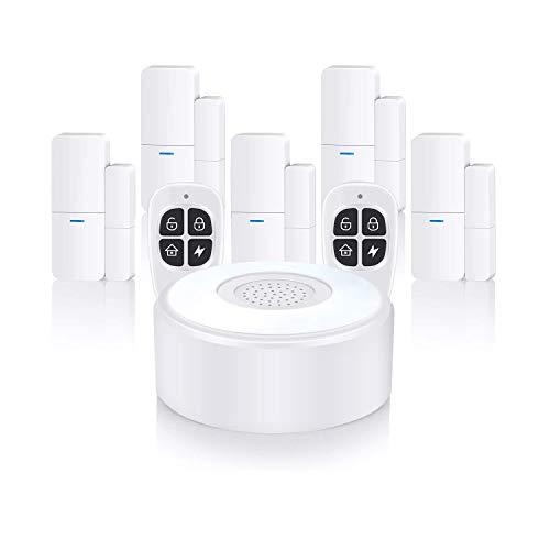 Home Alarm System Wireless, Komplette Alarmanlage mit 1 Sirene, 5...