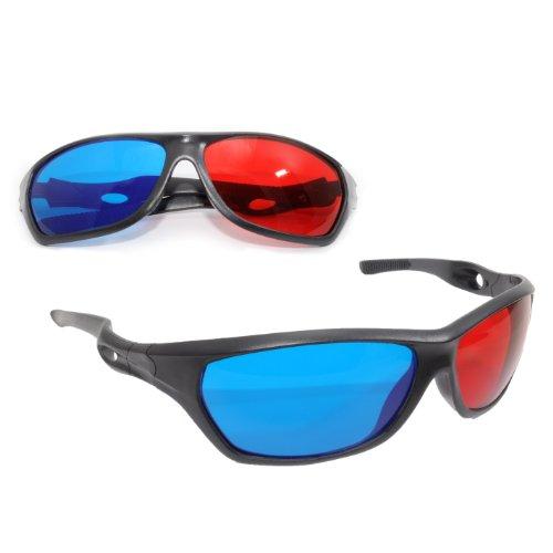 3D Brille mit Anaglyphen-Technologie für Filme oder PC-Spiele im...