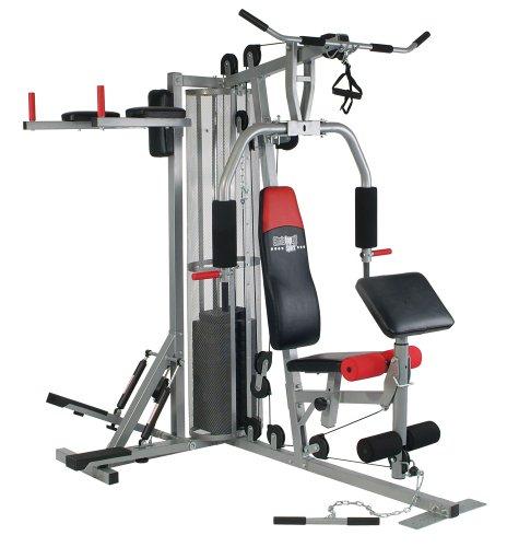 Christopeit Fitness-Station Profi Center, Silber, 9988