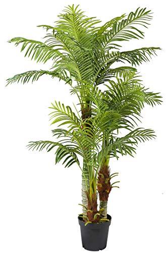 Arnusa Große Künstliche Palme Deluxe 180cm mit 3 Stämmen und...
