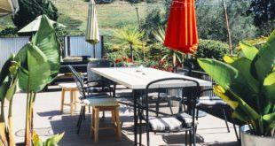Sonnenschutz auf der Terrasse