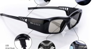 3D-Brille Bluetooth