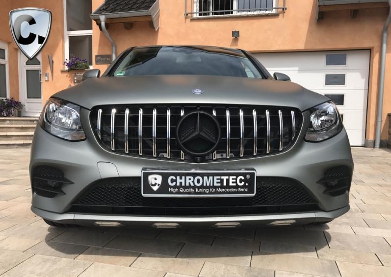 Wie neu nach Chrometec-Tuning: der Mercedes GLC X253